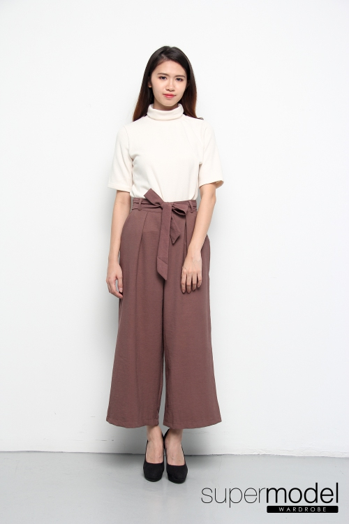 Tana Ankle Pant (Brown)