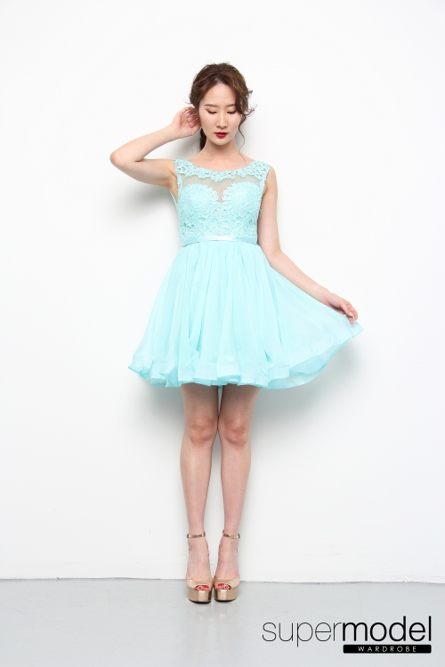 Audrey Princess Dress (Tiffany Green)