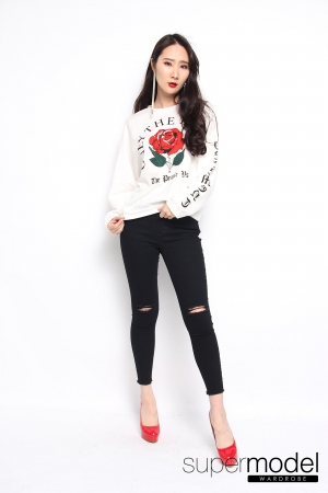 Brodie Rose Top (White)