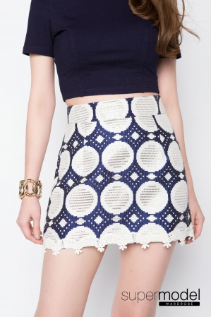 Raqula Shifted Skirt (Blue)