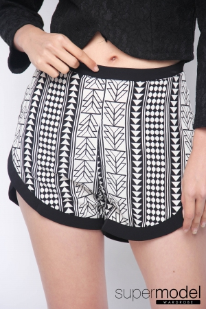 Pathy Summer Pant (Tribal-Black)