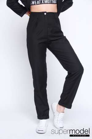 Feline Formal Trousers (Black)