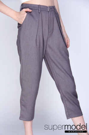 Freya Quarter Pant (Grey)