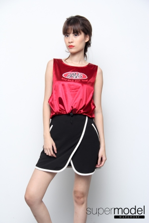 Pams Swag Top (Red)