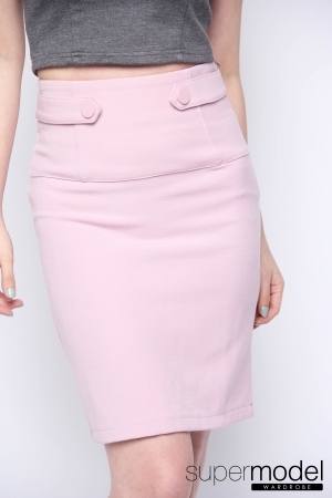 Peeye Formal Skirt (Pink)