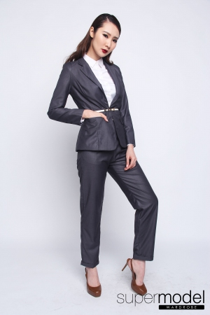 Feline Formal Blazer (Grey)