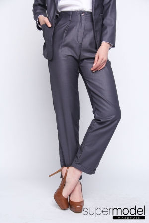 Feline Formal Trousers (Grey)