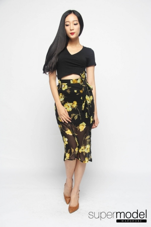 Pachontas Summer Dress (Black)