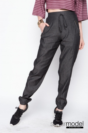 Ryker Denim Long Pant (Black)