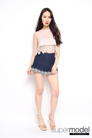 Jerri Casual Top (Pink)