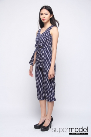Pepper Dots (Navy Blue)