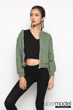 Kyo Zipper Jacket (Green)
